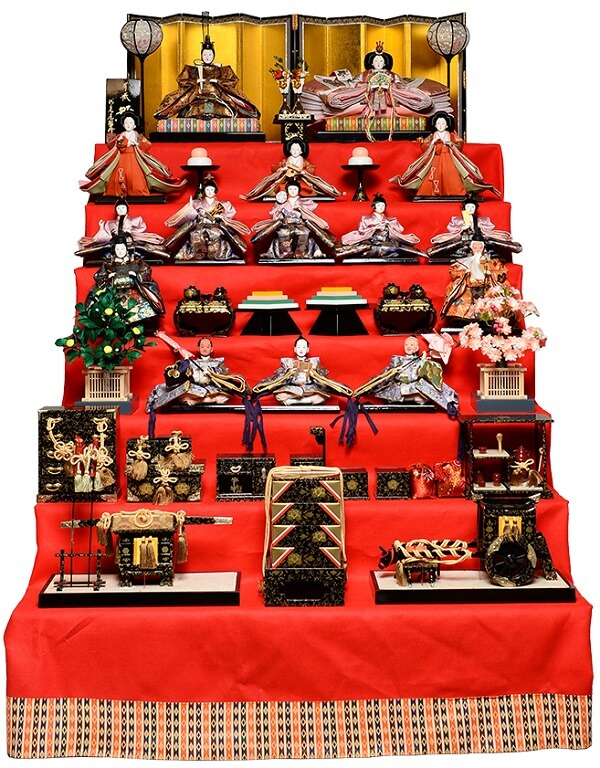 gorgeous hina dolls