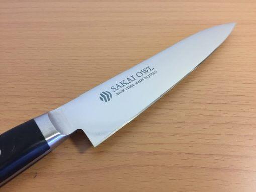 Japanese knife made in Sakai, petit stainless steel