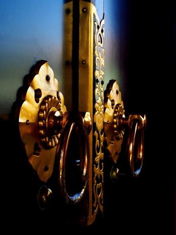 traditional ninja hardware door knocker