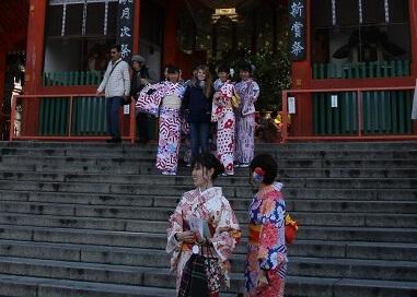 kimono girls in kyoto