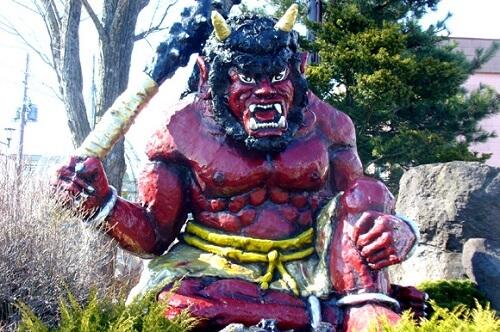 oni ogre daemon of Japan