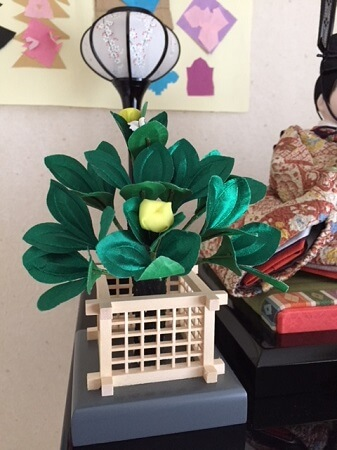 Japanese Hina dolls for girl's festival, details
