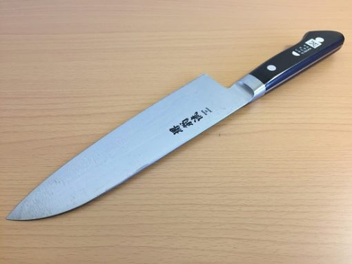 Japanese santoku knife made in Sakai, SK steel