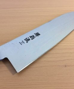 Japanese santoku knife made in Sakai, SK steel