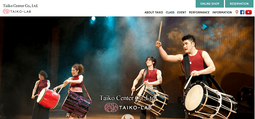 Japanese drum lessons and experience