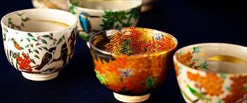 kiyomizu yaki, pottery of Kyoto, japan