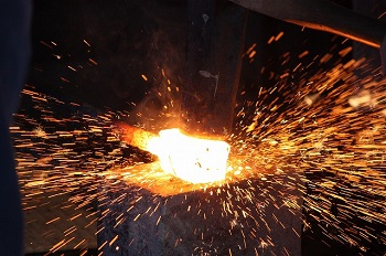 forging in japanese knife making process