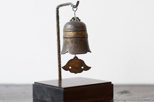 "table object of japanese traditional wind chime ""futaku"""