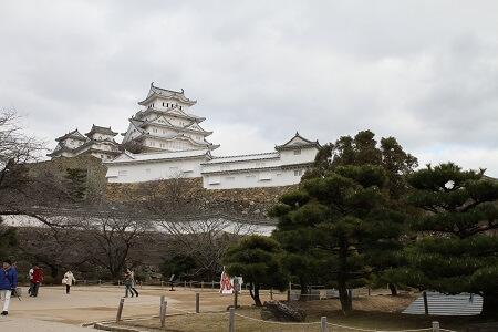 Himeji Castle entire view