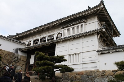 1st gate of Himeji Castle