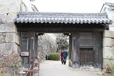 2nd gate of Himeji Castle