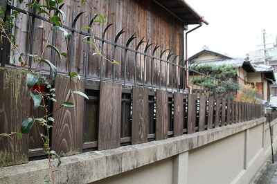 Ninja Hardware used in the city of Kyoto