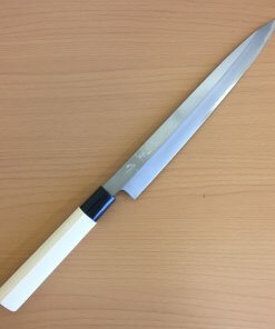 Japanese kitchen knife for Sashimi made in Sakai, Yanagiba