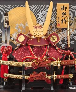 samurai helmet for sale, Yukimura Sanada model, details of helmet and accessories