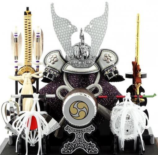 Samurai helmet for sale, Kobu model, details of helmet and accessories