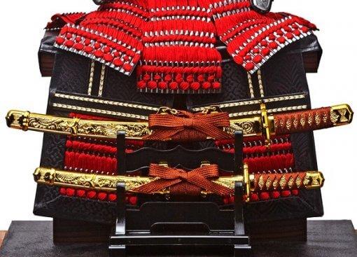 samurai armor for sale, Yukimura Sanada model, option parts Samurai swords katana