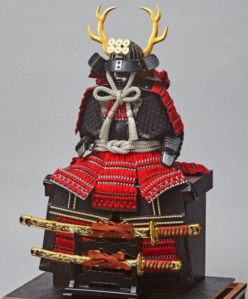 samurai armor for sale, Yukimura Sanada model, Diagonal front view