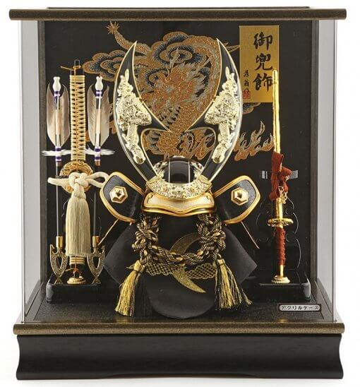 Samurai helmet for sale, falcon gold model