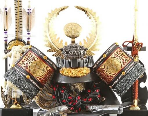 samurai helmet for sale, Ieyasu Tokugawa - Sekiryu model, entire view