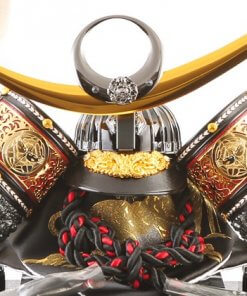 samurai helmet for sale, Kenshin Uesugi - Tenzan model, details of the helmet