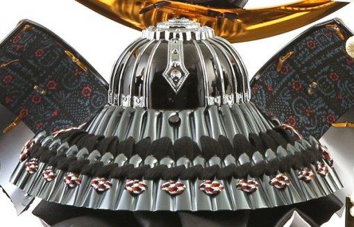samurai helmet for sale, Kenshin Uesugi - Tenzan model, back side view