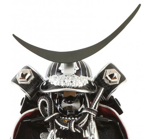 samurai armor Masamune Date model, helmet and crest