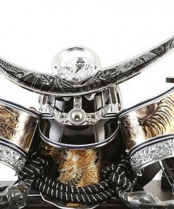 Samurai helmet for sale, Kenshin Uesugi - Kurama model, details of helmet and accessories