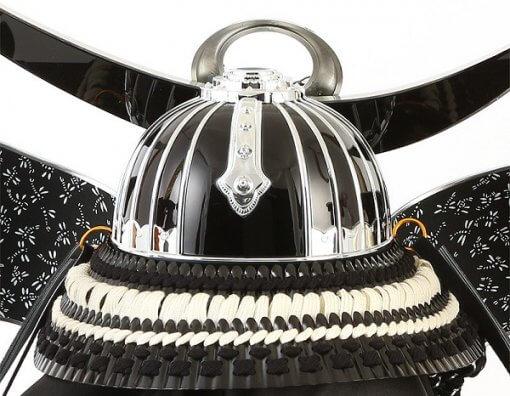 Samurai helmet for sale, Kenshin Uesugi - Kurama model, back side view
