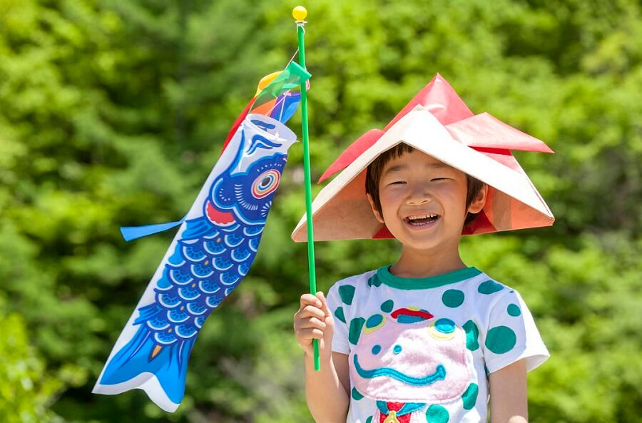 children's day image in Japan
