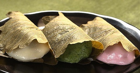 Japanese Rice Cakes, Kashiwa-mochi