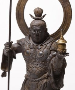 Buddha Statue for sale, palm-sized Bishamonten