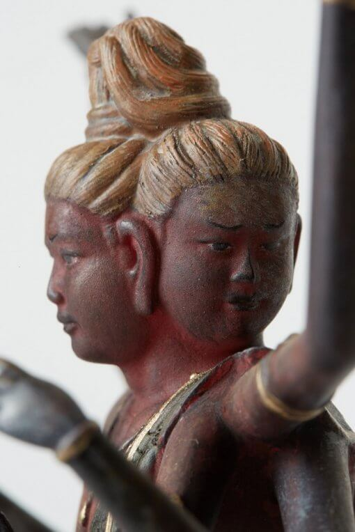 Buddha Statue for sale, palm-sized Asura, zooming up to faces