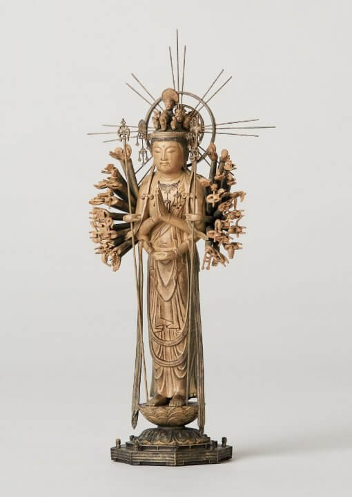 Buddha Statue for sale, palm-sized 1000-armed Kannon