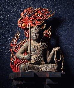 Buddha Statue for sale, Acala / Fudo Myo-oh palm-sized