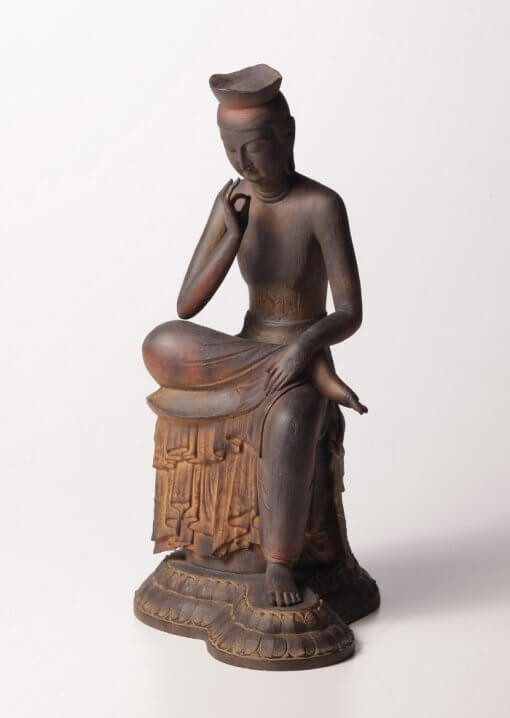 Buddha Statue for sale, Miroku Buddha, entire view of the statue