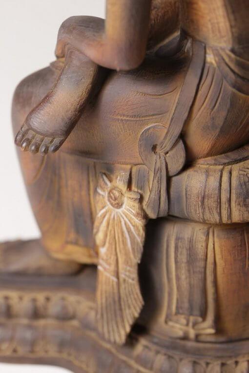 Buddha Statue for sale, Miroku Buddha, details of basement