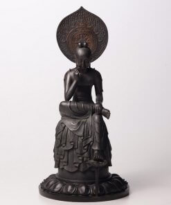 Buddha Statue for sale, Bosatsu Hanka, entire view of the statue