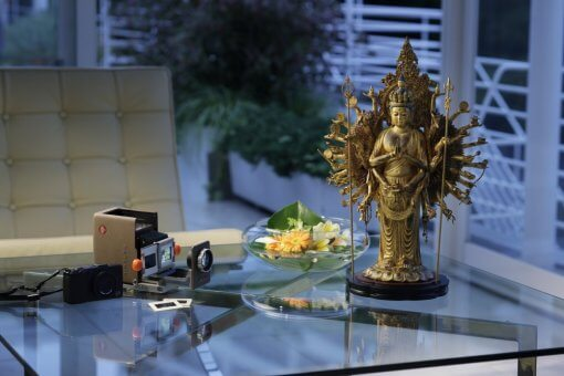 Buddha Statue for sale, ultimate 1000-armed Kannon, an example as an interior object