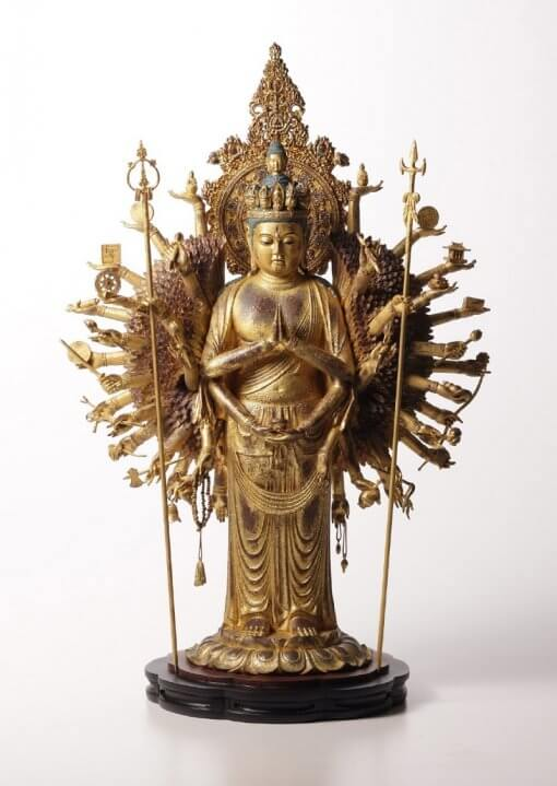 Buddha Statue for sale, ultimate 1000-armed Kannon, entire view