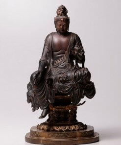 Buddha Statue for sale, Nyoirin Kannon Cintāmaṇicakra, entire view
