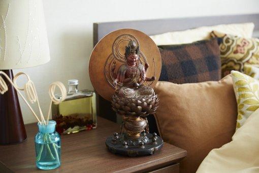 Buddha Statue for sale, Aizen Myooh Ragaraja, example of an interior object