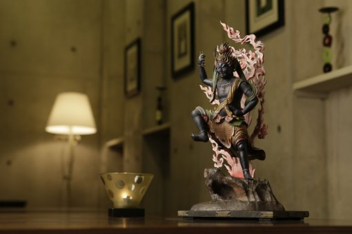 Buddha Statue for sale, Zaoh Gongen, an example of installing as a interior object