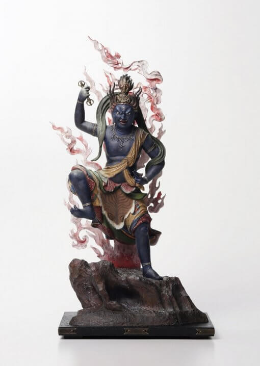 Buddha Statue for sale, Zaoh Gongen, entire front view