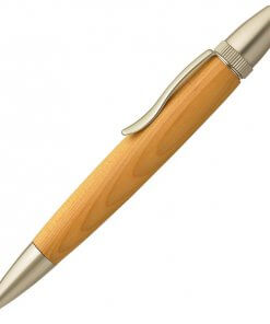 Handmade Ballpoint Pen made in Japan, Precious Wood Pen Series, Yew tree