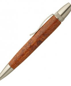 Handmade Ballpoint Pen made in Japan, Precious Wood Series Pen made of Chinese quince tree