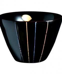 japanese lacquerware for sale, urushi sake cup series, mother-of-pearl crafts on black lacquer cup