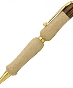 Handmade Ballpoint Pen made in Japan, Hida Tree Series, Japanese chestnut tree