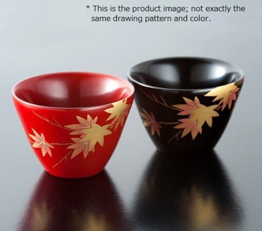 japanese lacquerware for sale, urushi sake cup series
