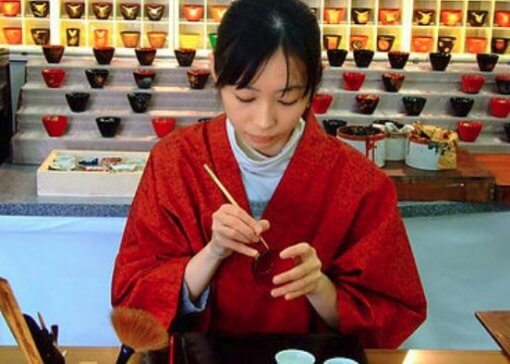 japanese lacquerware for sale, product making process