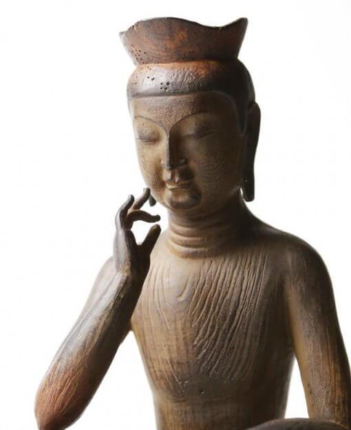 Buddha Statue for sale, Palm-sized Miroku Buddha